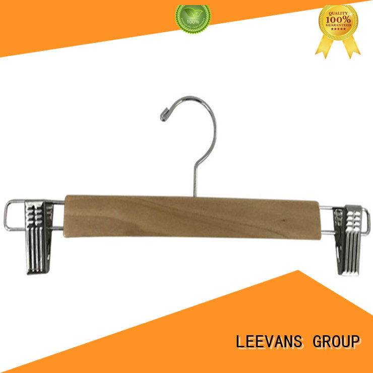 adjustable where to buy wooden hangers ash for trouser LEEVANS