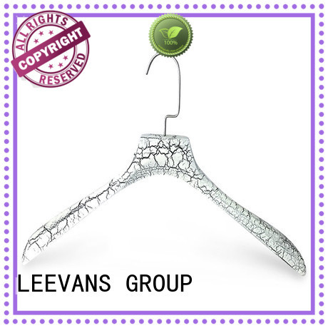 LEEVANS solid thick wooden hangers Supply for clothes