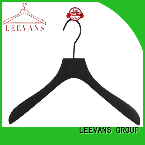LEEVANS hot sale wooden hangers wholesale manufacturer for children