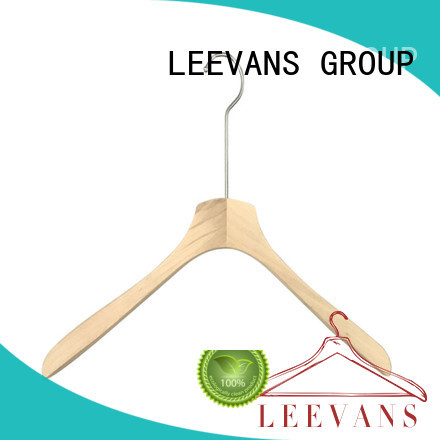 LEEVANS fashion wooden hangers wholesale for skirt