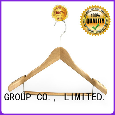 LEEVANS pants black wooden hangers manufacturer for children