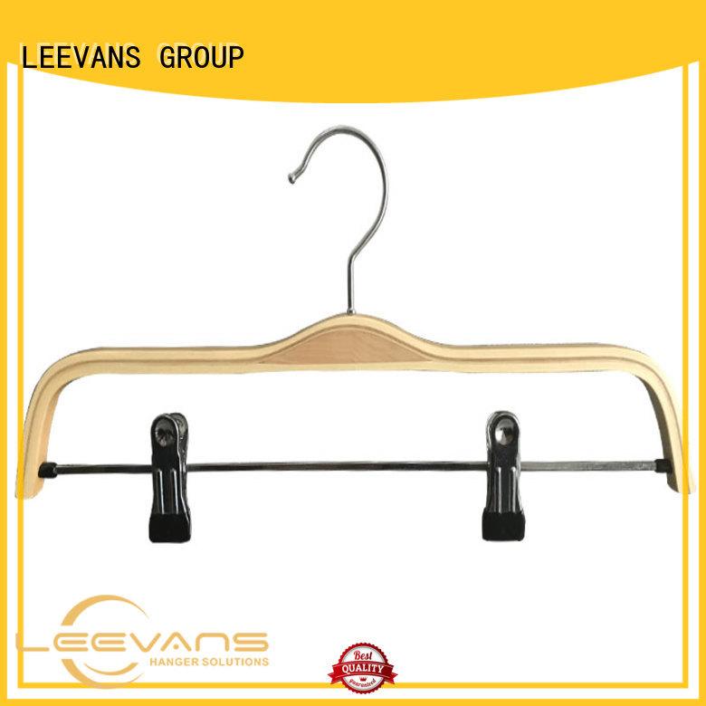 LEEVANS ash wood slack hangers company for skirt