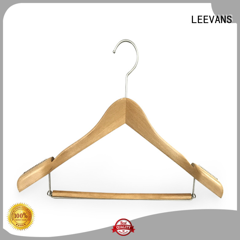 New timber clothes hanger brands Supply for clothes