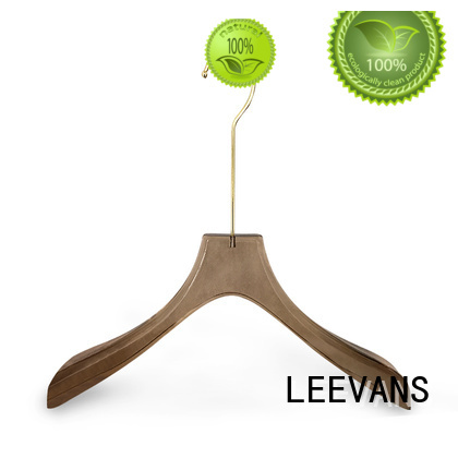 LEEVANS color padded hangers for business for suits