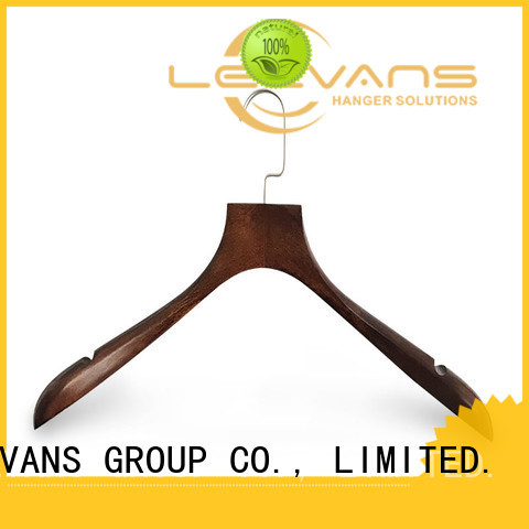 LEEVANS dark sturdy coat hangers for business for clothes