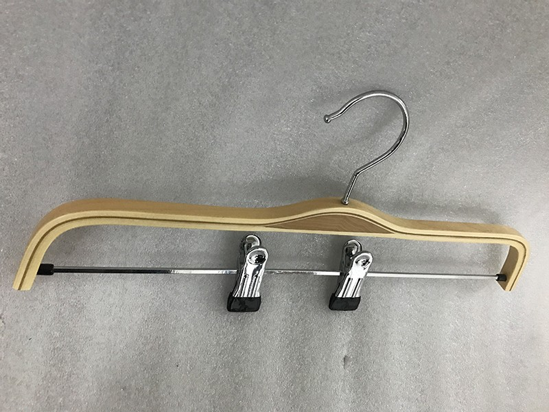 High-quality wooden coat hangers wholesale color for business for trouser-5