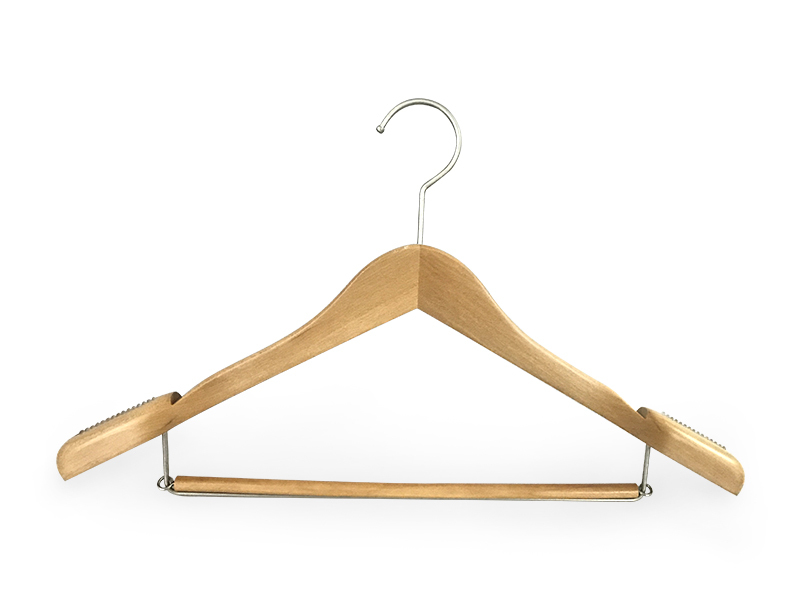Latest where to buy wooden coat hangers shape manufacturers for clothes-1
