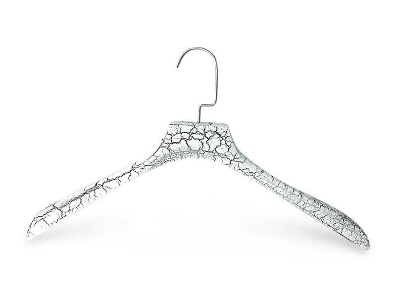 Fashion Hard-wearing Custom Cloth Hanger With Metal Hook