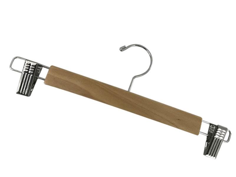 Wholesale buy wooden coat hangers hanger manufacturers for skirt-LEEVANS-img