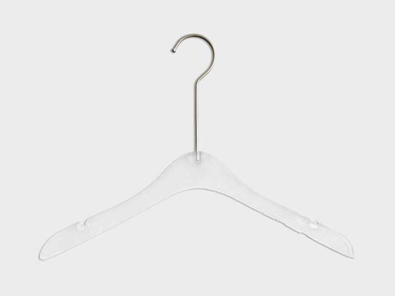 Promotional Clear Transparent Plastic Acrylic Hangers For Coat