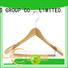 Wholesale wooden clip hangers hardwearing manufacturers for kids
