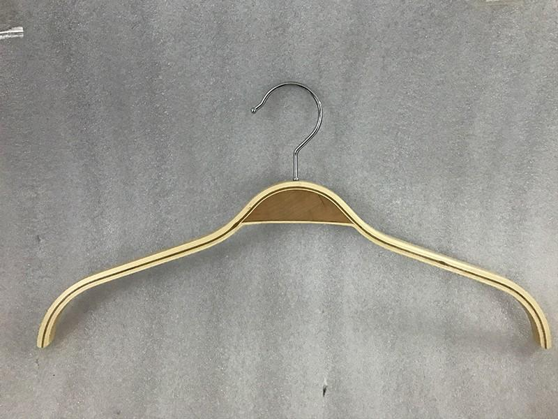 New white wood hangers bulk solid manufacturers for clothes-2