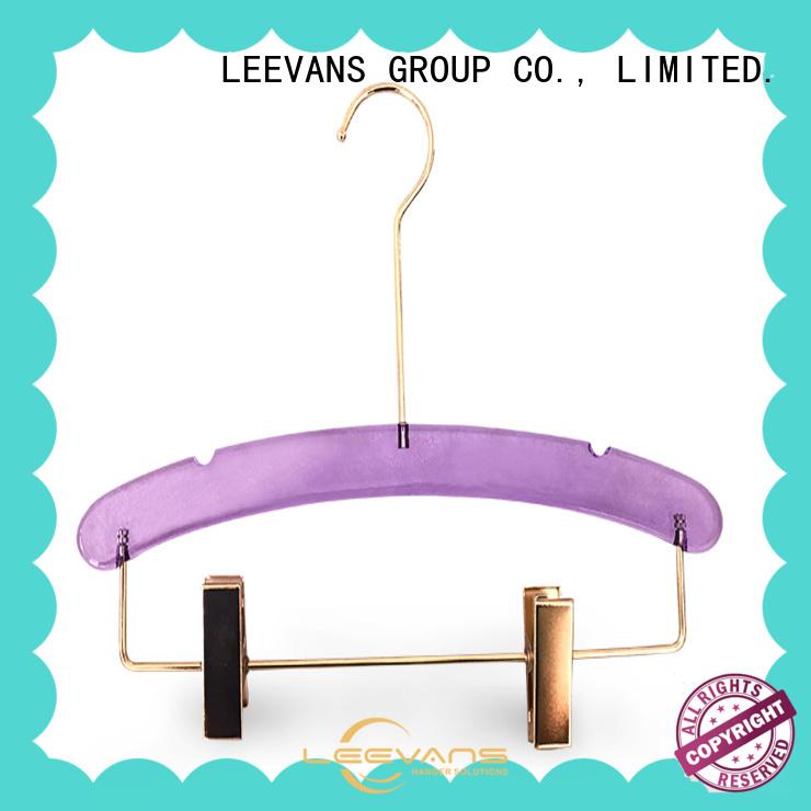 LEEVANS elegant coat hanger design factory for pant
