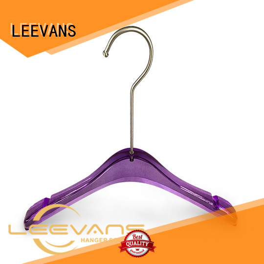 LEEVANS luxury coat hangers wholesale manufacturer for sweaters