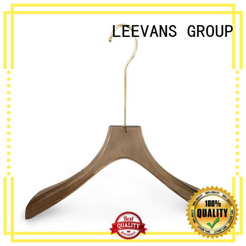 LEEVANS high grade acrylic hanger wholesale shop for jackets