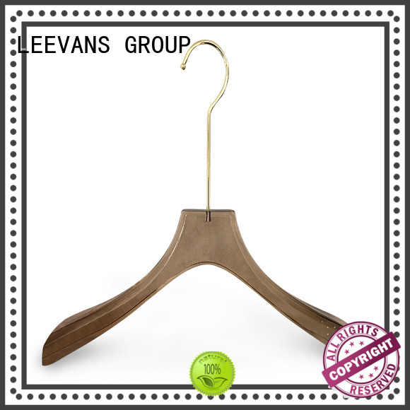 LEEVANS suppliers‎ luxury hangers Supply for jackets