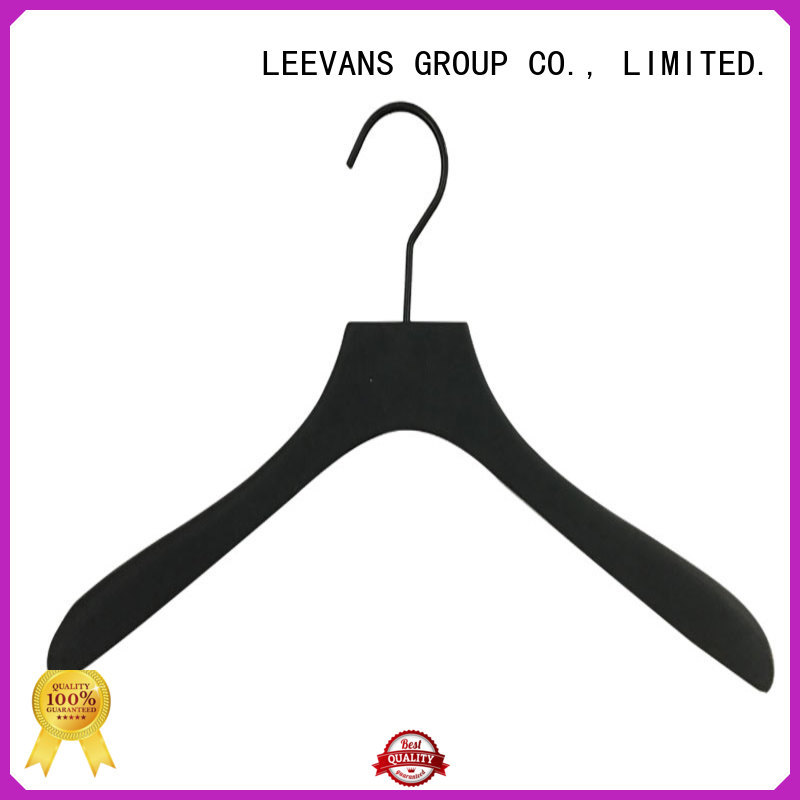 LEEVANS pant wood clothes hangers wholesale manufacturers for skirt