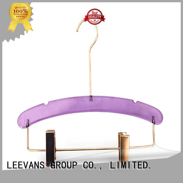 LEEVANS Wholesale portable clothes hanger factory for T-shirts