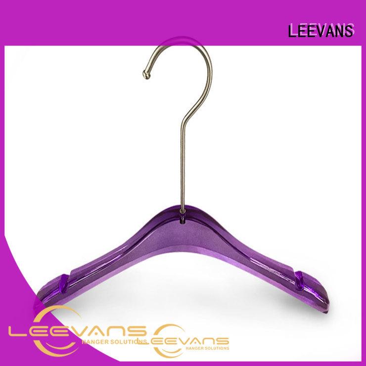 LEEVANS grey black coat hangers manufacturers for suits