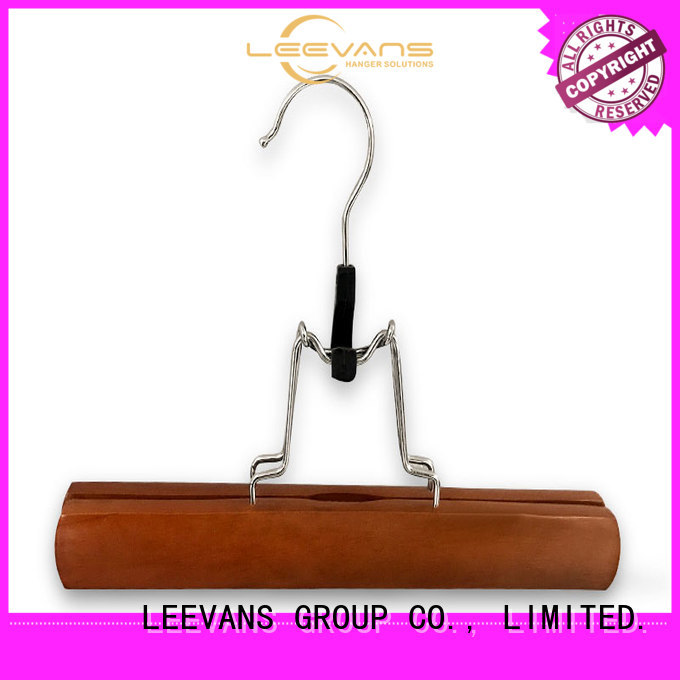 LEEVANS Best infant wooden hangers Suppliers for trouser