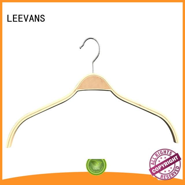 LEEVANS hot sale wooden skirt hangers quality for skirt