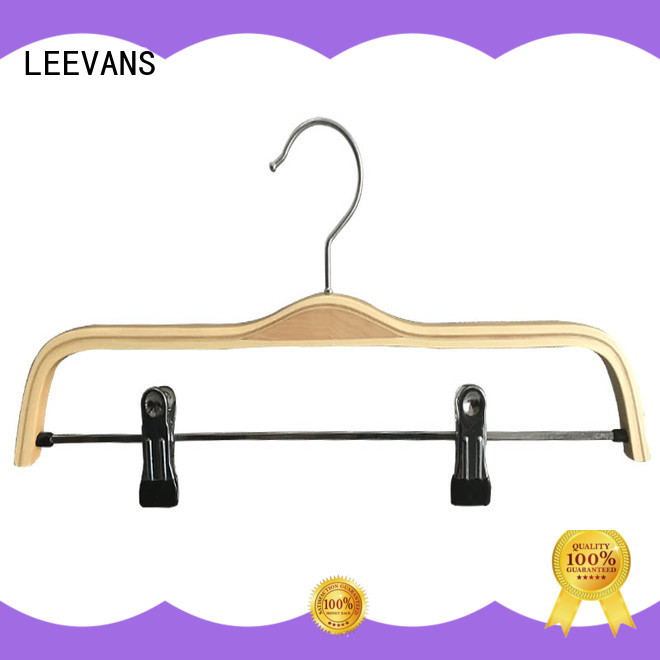 LEEVANS price childrens wooden hangers wholesale manufacturer for kids