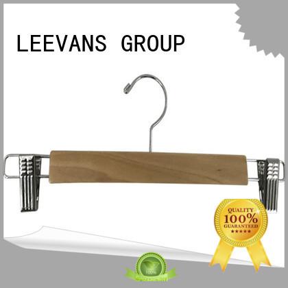 LEEVANS online wooden hangers wholesale manufacturer for children