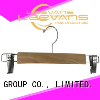 LEEVANS New wooden hangers wholesale Suppliers for pants