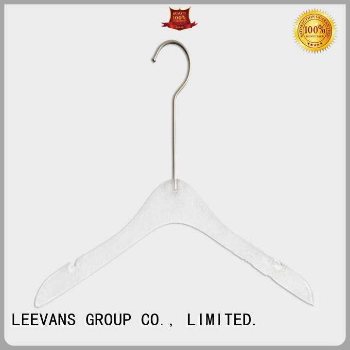 LEEVANS saving acrylic clothes hangers Supply for T-shirts