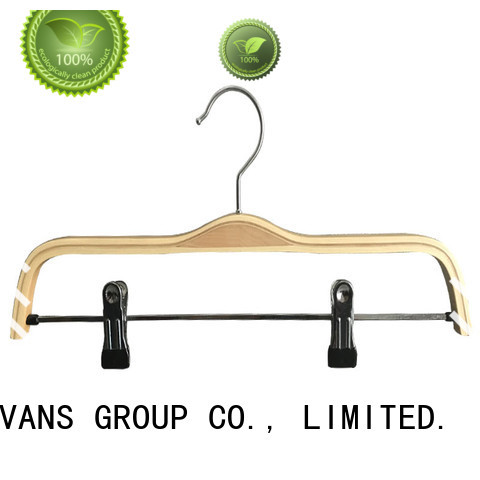 LEEVANS finish white coat hangers company for children