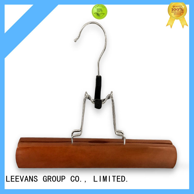LEEVANS sales wooden trouser hanger Supply for children