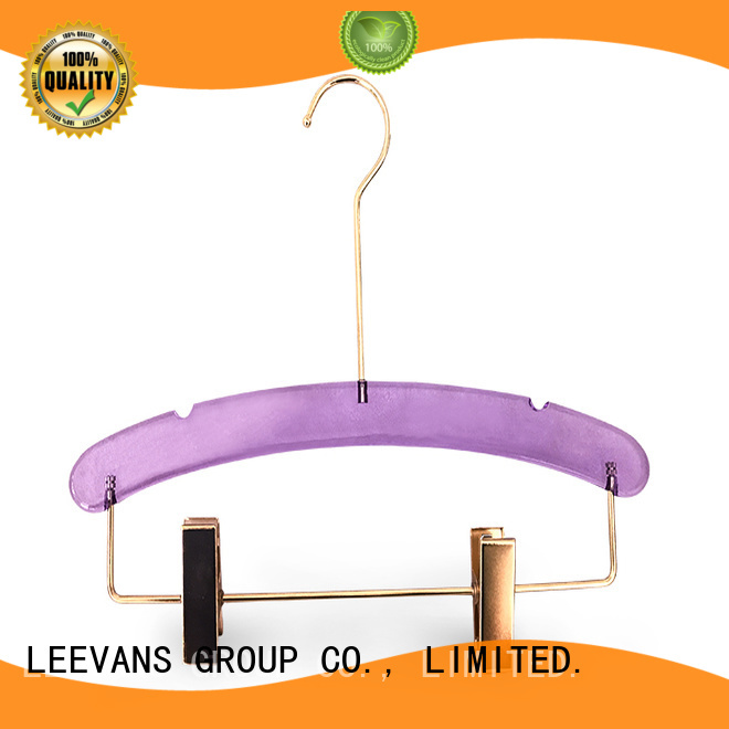 custom acrylic clothes hangers supplier for suits
