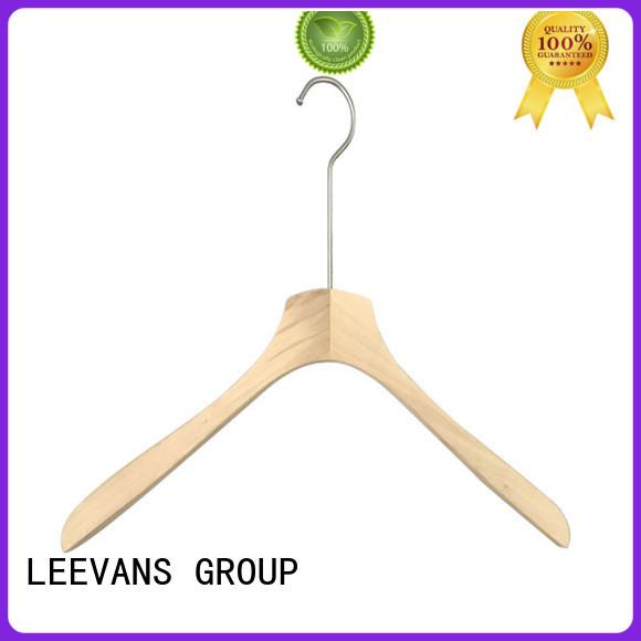 wooden cloth hanger locking for trouser LEEVANS