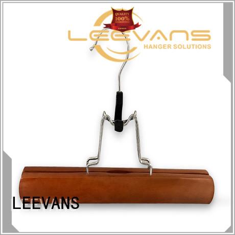 LEEVANS hangers wooden hangers Suppliers for pants