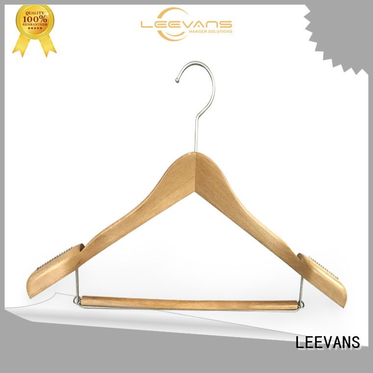 Custom discount wooden hangers sale factory for skirt