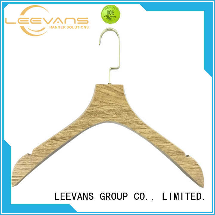 Custom luxury clothes hangers logo Supply for kids
