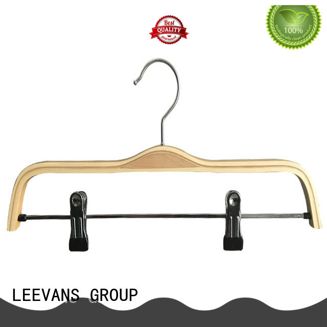 LEEVANS exported hotel hangers factory for pants