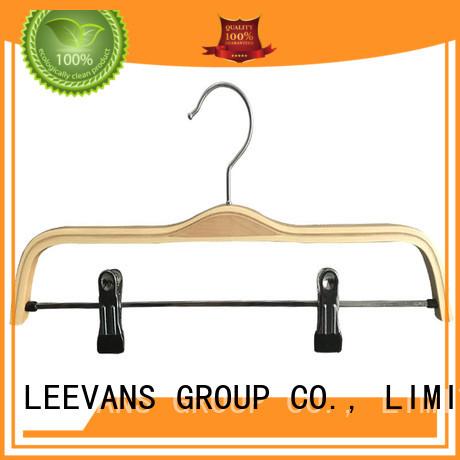LEEVANS Custom suit coat hangers factory for pants