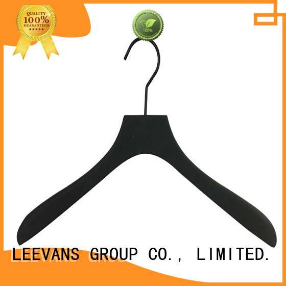 High-quality wooden clip hangers oem for business for pants