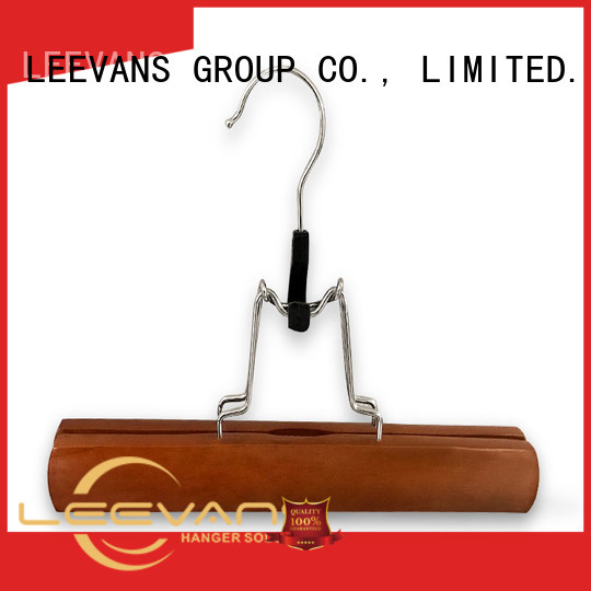 LEEVANS adjustable where to buy wooden clothes hangers Suppliers for children