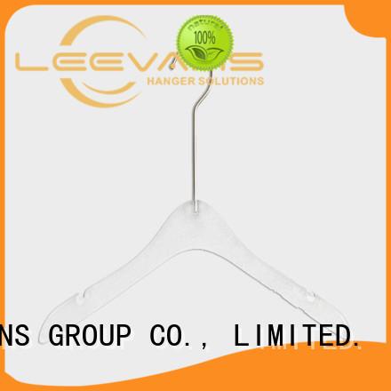 LEEVANS plexiglas hangers for sale factory for T-shirts