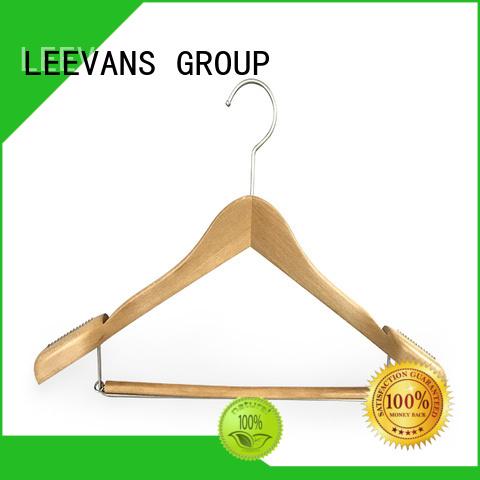 LEEVANS Custom best wooden coat hangers company for kids