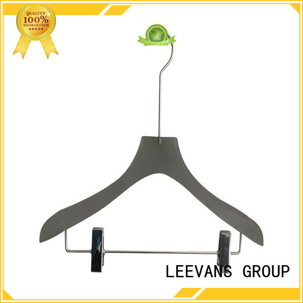 clear decorative clothes hangers supplier for T-shirts LEEVANS