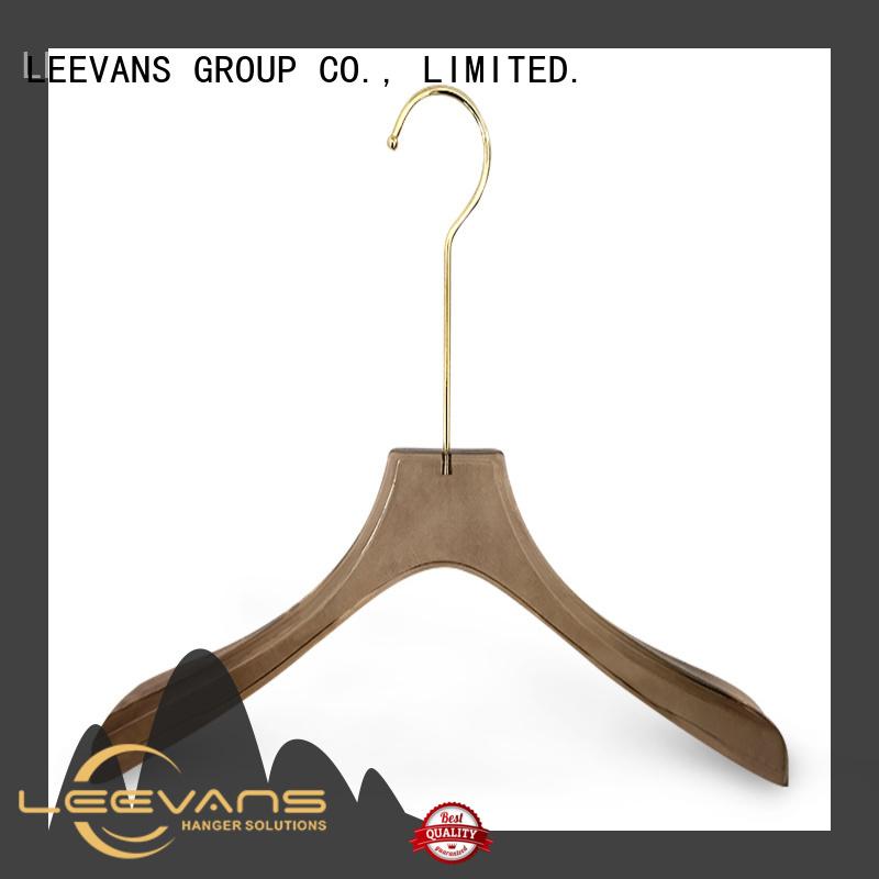 plexiglas acrylic hangers wholesale wholesale for jackets LEEVANS