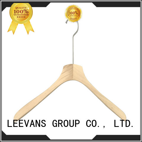 personalised wooden hangers manufacturer for skirt