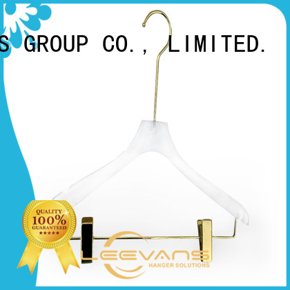LEEVANS suppliers brown hangers manufacturers for T-shirts