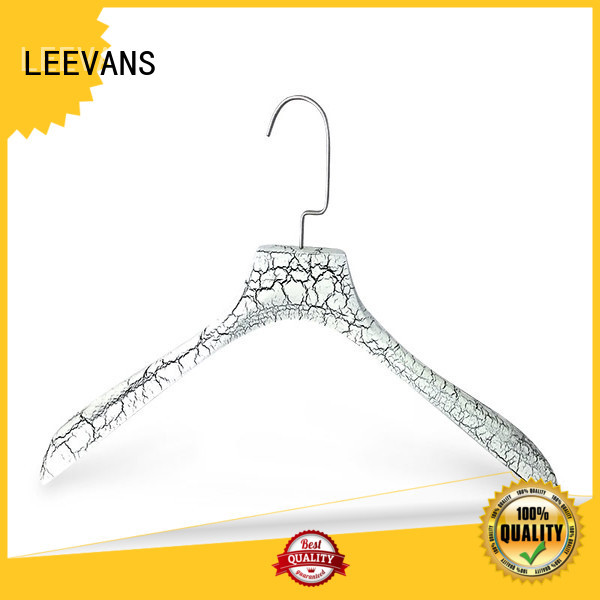 wooden clothes hanger luxury  for clothes LEEVANS