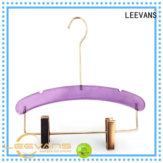 LEEVANS bottom custom coat hangers manufacturers for pant