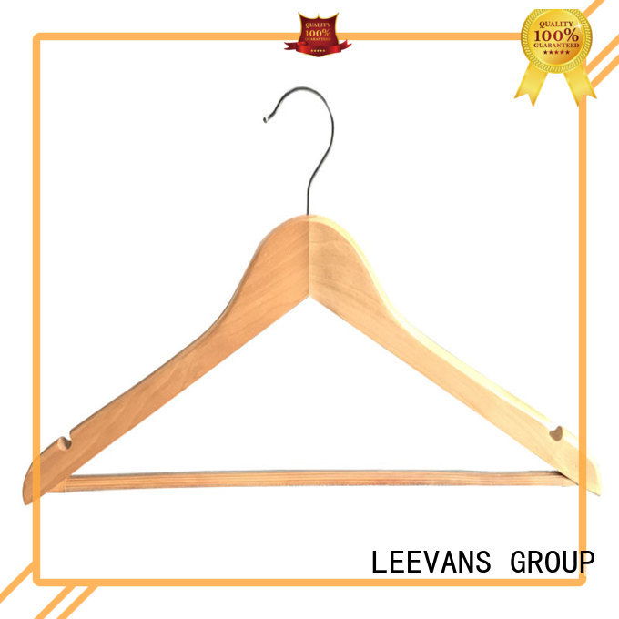 LEEVANS non wooden coat hangers with trouser clips Suppliers for children