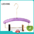 acrylic hanger wholesale promotional for jackets LEEVANS